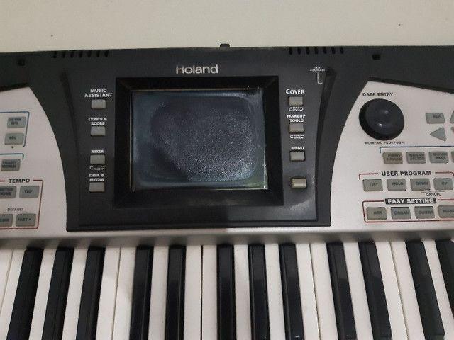 Roland E-50 OBS: TELA QUEIMADA. - Foto 4