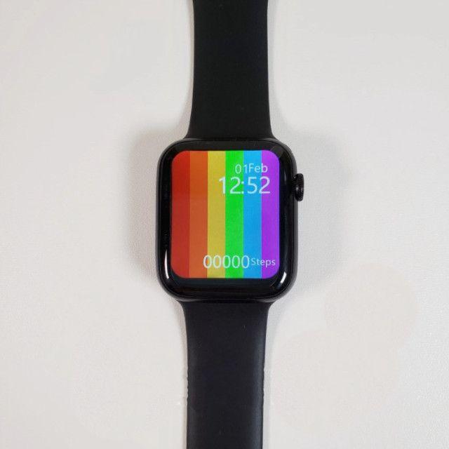 Smartwatch W26 Iwo 12 Lite - Tela Infinita 44mm + Brinde - Foto 4
