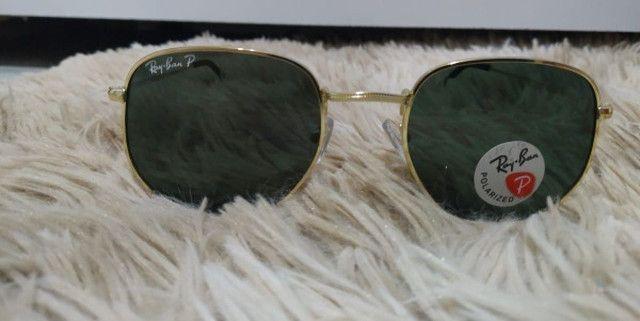 Óculos de Sol Ray Ban Polarizado - Foto 3