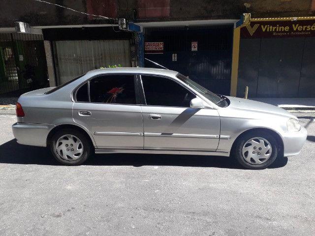 Honda/Civic LX 2000 1.6 Automático - Foto 2