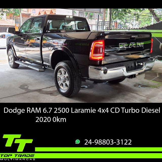Dodge RAM 2500 Laramie 6.7 TDI Cd 4x4 Diesel 2020 0km - Foto 3