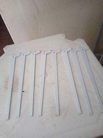Cremalheira com suporte de ferro - Foto 5