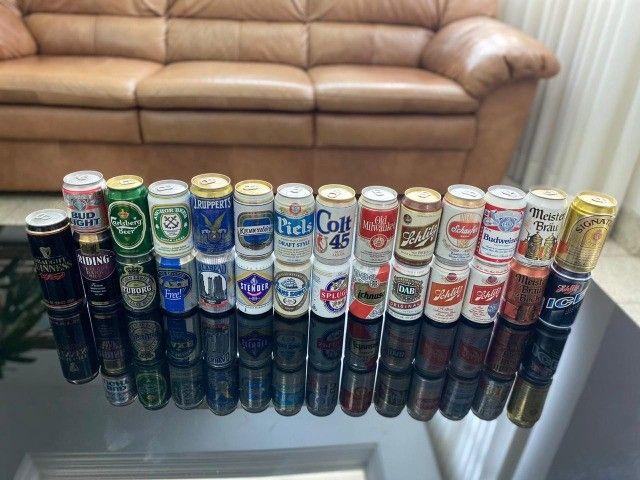 Latas de cerveja para colecionador