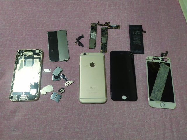 Lote Aparelhos iPhone para retirada de peças ou reparo - Foto 4