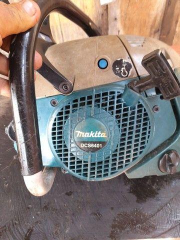 Vendo motor serra makita muito bom 900 reais  - Foto 5