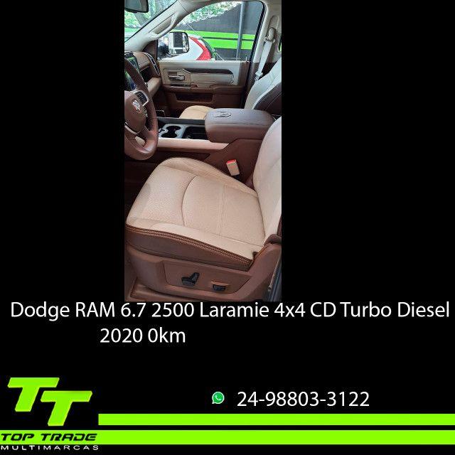Dodge RAM 2500 Laramie 6.7 TDI Cd 4x4 Diesel 2020 0km - Foto 7