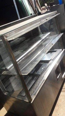 Expositor de torta refrigerado - Foto 3