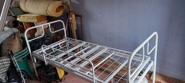 Cama Hospitalar + Ar condicionado umidificador de ar