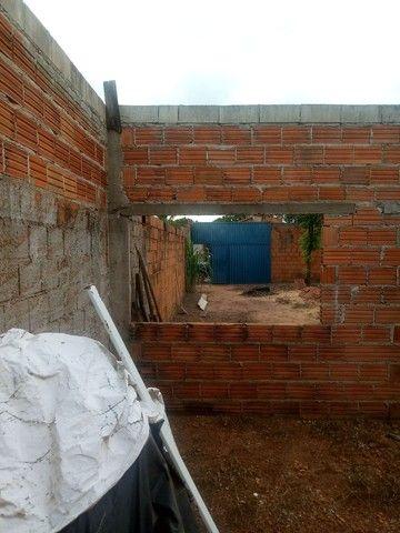 Lote com construção pego carro ou chácara na troca - Foto 13