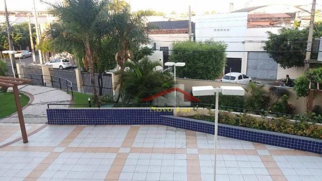 Apartamento com 3 dormitórios para alugar, 113 m² por R$ 1.800,00/mês - Fátima - Fortaleza - Foto 10