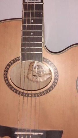 Vendoou troco  por outro  violão  folk  do mesmo  nivel ou melhor dou um volta dependendo  - Foto 4