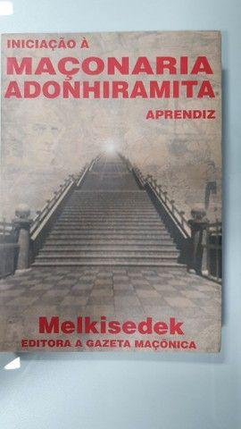 super coleção - maçonaria 5 livros - imperdível  - Foto 4