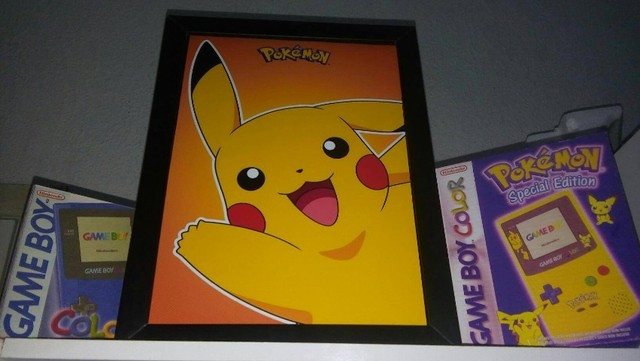 Quadro Pikachu - Pokemon  - Foto 2