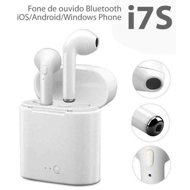Fone i7s Bluetooth: - Fone de ouvido sem fio - Foto 2