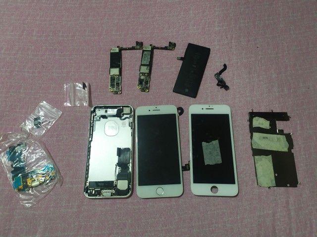 Lote Aparelhos iPhone para retirada de peças ou reparo - Foto 5