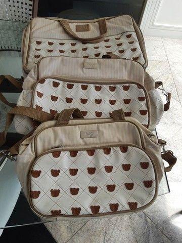 Conjunto de malas para bebê