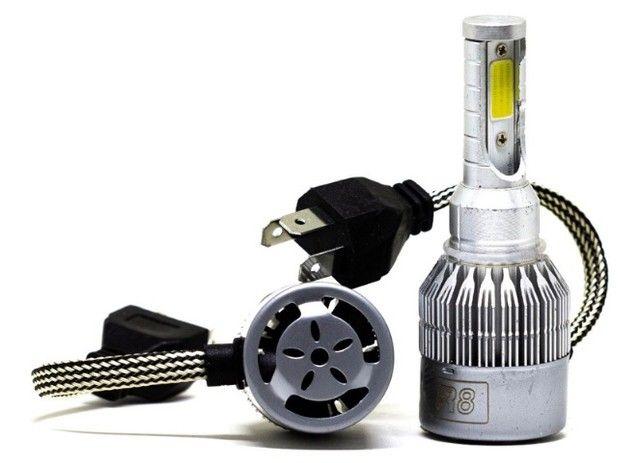 Par lâmpada led H4 6500K R8 - Foto 4
