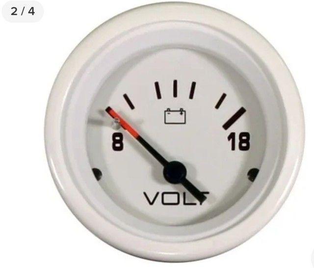 Voltimetro mercury 12v motor nautico - Foto 3