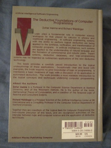 The Deductive Foundations of Computer Programming - Foto 2