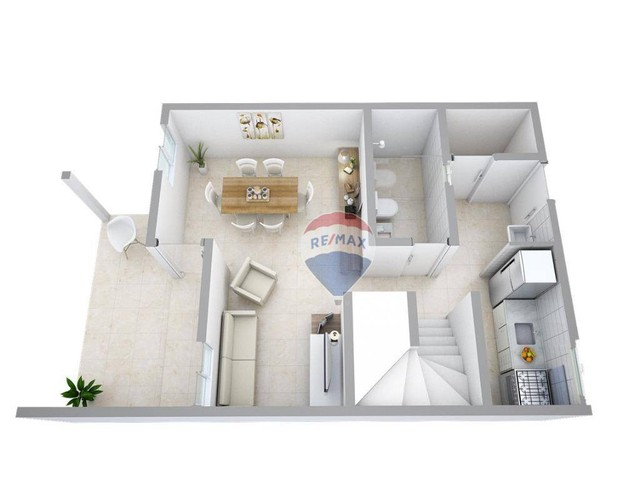 Apartamento com 3 dormitórios à venda, 93 m² por R$ 249.000,00 - Jacumã - Conde/PB - Foto 7