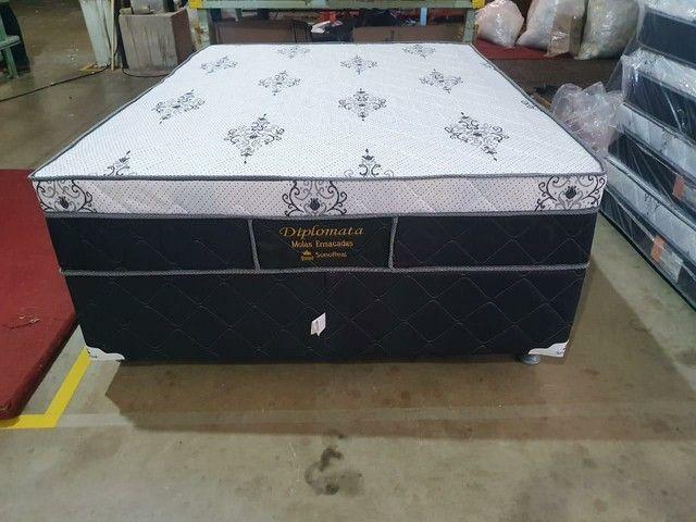 CAMA BOX CASAL MOLAS ENSACADAS  - Foto 2