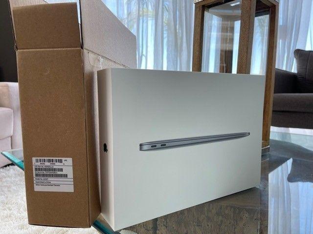 Macbook Air M1 256gb Space Gray Novo na caixa - Foto 2
