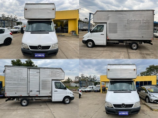 Sprinter 313 Cdi Bau alto e longo DH entrada R$ 4990,00 + 48 X via financeira  - Foto 11