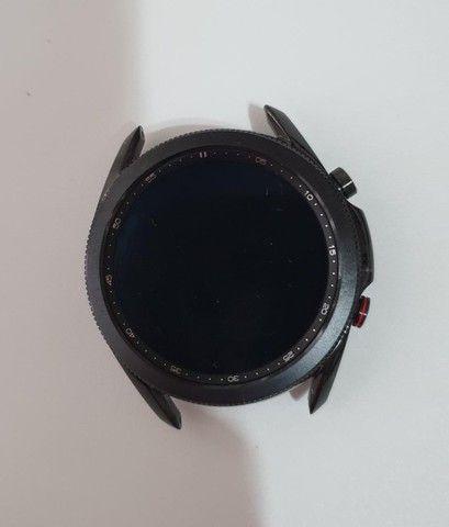 Smartwatch Samsung Galaxy Watch3 Preto 45mm LTE - Foto 3