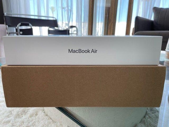 Macbook Air M1 256gb Space Gray Novo na caixa - Foto 4