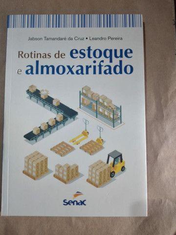 Livro - Rotinas De Estoque E Almoxarifado  - Foto 2
