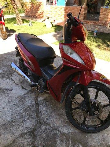 Vendo shineray jet ou troco por moto emplacada - Foto 6