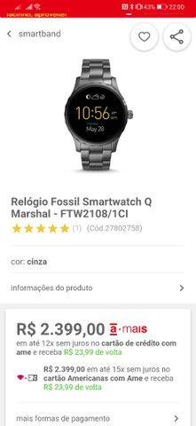 Smartwatch Fóssil Q Marshal - Foto 5