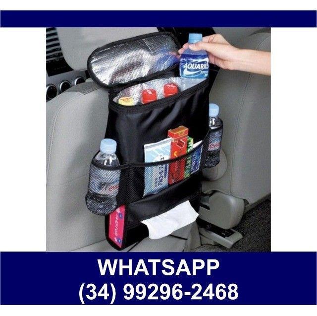 Bolsa Térmica para Carros * Uber - 99 Pop * Fazemos Entregas