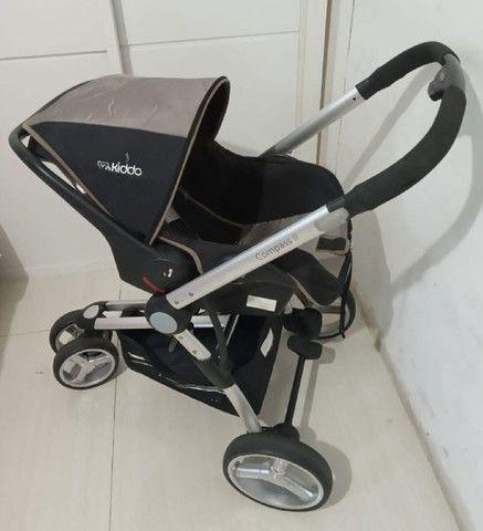 carrinho de bebê+ bebê confort +moisés / compass ii kiddo - Foto 4