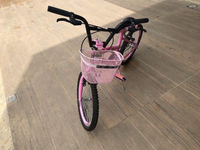 Vende-se bicicleta seminova aro 20  - Foto 2