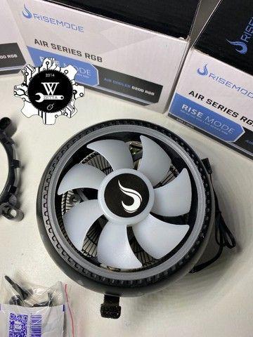 Air Cooler Processador Rise Mode RGB G200 AMD Intel - Foto 3