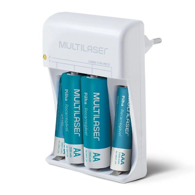 Carregador de piIlhas - Multilaser