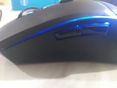 mouse gamer fortek g 7200 dpi 4 cores (seminovo) - Foto 2