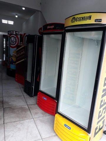 Troco 5 Cervejeiras 500lts porta de vidro por carro com doc okay