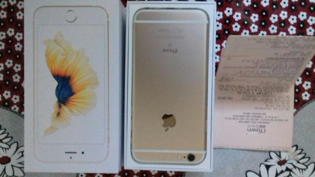 IPhone 6s 128gb Gold C/Nota e Garantia