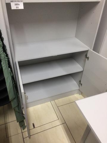 Armário estante cinza novo - Foto 3