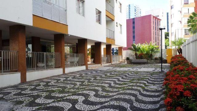 Candeal - Brotas - Apartamento 3/4 com 2 Suítes, 98m², 3 Vagas Cobertas, Nascente