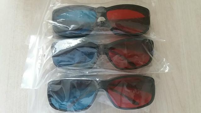 3 Óculos 3D para Notebook ou PC Positivo Novos e Originais