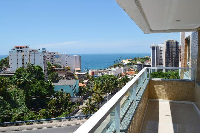 Apartamento de 3 quartos, vista mar – Garibadi