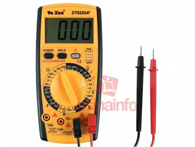 Multimetro Digital ( Para Eletronicos ) DT9205a