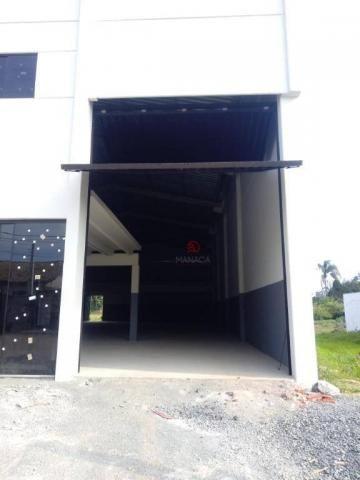 Galpão para alugar, 313 m² por r$ 3.500,00/mês - itajuba - barra velha/sc - Foto 4
