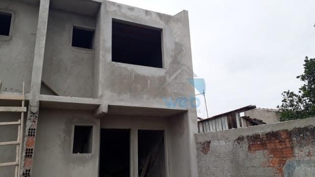 Oportunidade de compra! sobrado, 02 quartos, aproximadamente 77 m², em construção na regiã - Foto 2