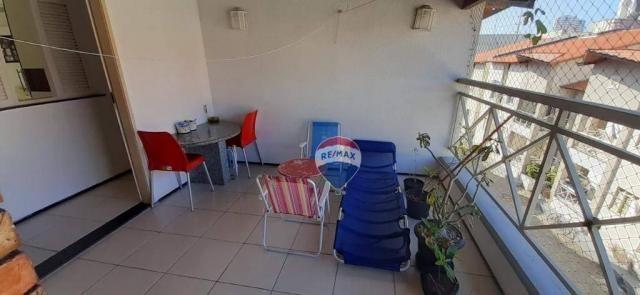 Apartamento duplex com 4 dormitórios à venda, 143 m² por r$ 395.000 - papicu - fortaleza/c - Foto 16