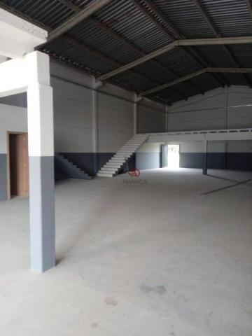 Galpão para alugar, 313 m² por r$ 3.500,00/mês - itajuba - barra velha/sc - Foto 8