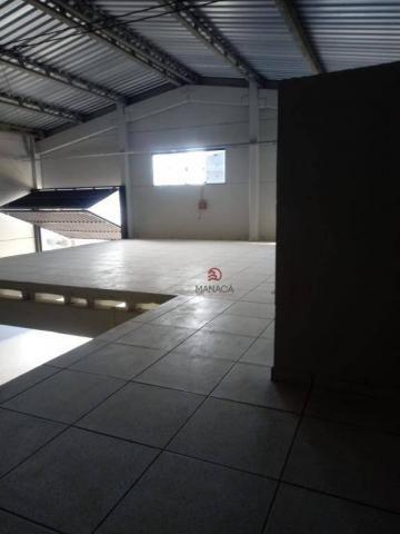 Galpão para alugar, 313 m² por r$ 3.500,00/mês - itajuba - barra velha/sc - Foto 10